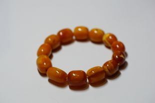 Antique Amber bracelet oval shape
